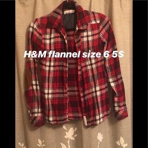H & M flannel